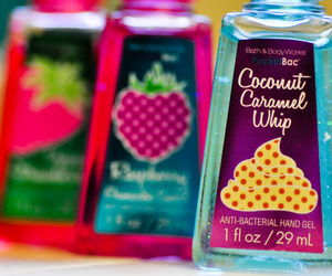 colorful, tumblr, and bath and body works image