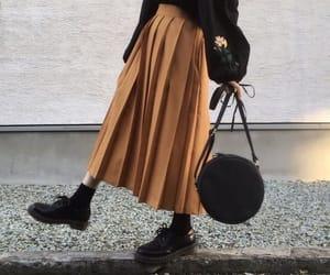 alternative, chic, and fall fashion image