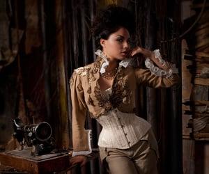 corset, fashion, and steampunk image