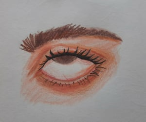 art, eye art, and colored pencil image