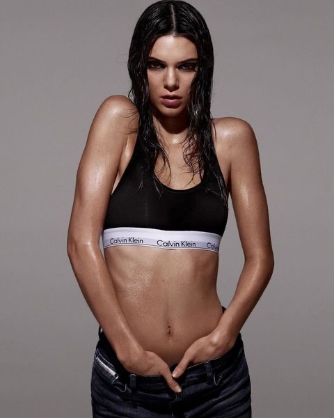 bralette, Calvin Klein, and Kendall image