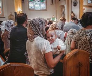 babies, Kirche, and Catholic image