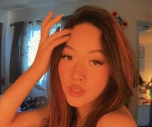 beauty, selfie, and fish eye lens image