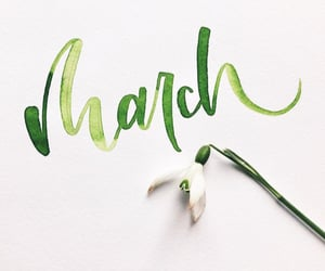 march, months, and welcome march image