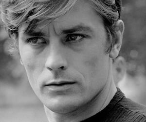 male crush handsome, Alain Delon, and famous image