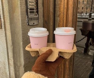 coffee, drink, and coat image