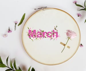aesthetic, march, and flowers image