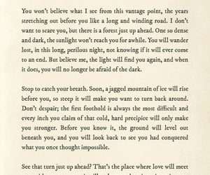 backdrop, Lang Leav, and words image