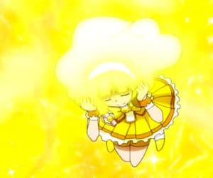 gif, yellow, and matching image