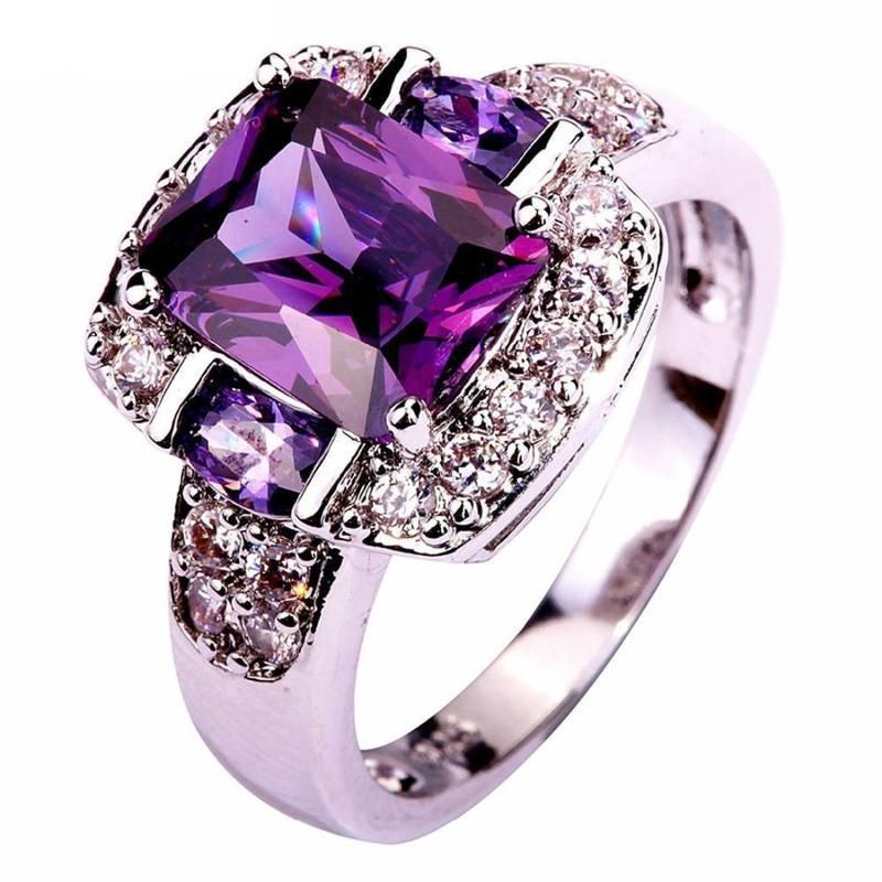 jewelry, amethyst, and bling image