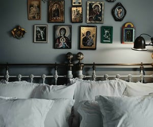 bedroom, home, and ave maria image