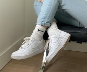fashion, nike air force, and nike image