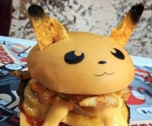 anime, pokemon, and food image