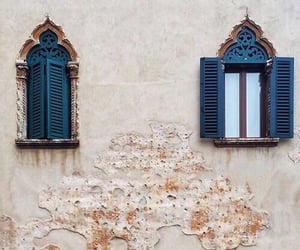 blue, travel, and window image