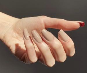 fake nails, nails, and new nails image
