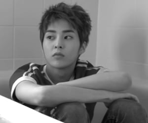 b&w, exo, and handsome image