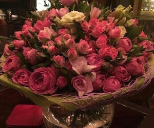 beautiful, bouquet, and roses image