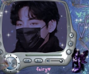aesthetic, army, and glitter image