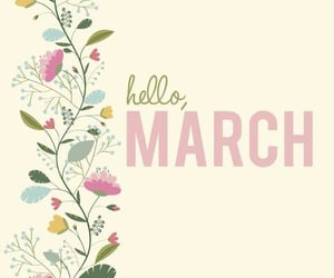 2021, welcome march, and hello march image