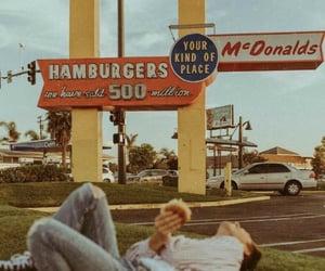 vintage, McDonalds, and retro image