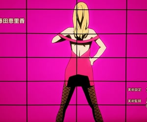 anime, irene adler, and back image