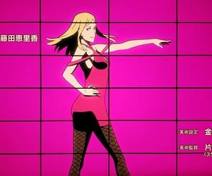 back, girl, and pink image