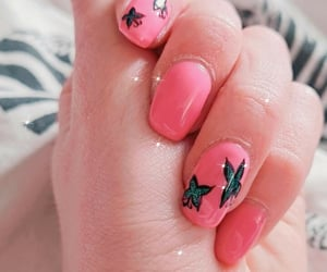 butterfly, newnails, and naildesign image