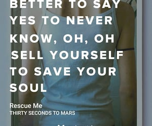 america, rescue me, and thirty seconds to mars image