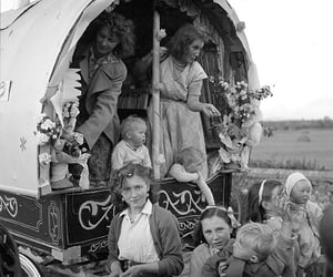 Caravan, ireland, and culture image