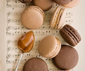 aesthetic, caramel, and music notes image