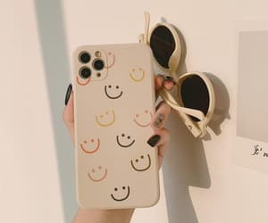 pastel, smiley, and iphone case image