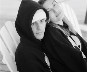 black and white, Relationship, and happy birthday justin image