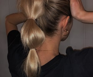 blond, hair, and pretty image