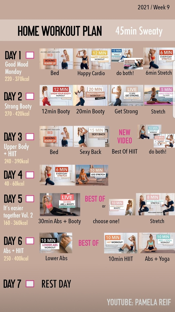 fitness, inspiration, and workout plan image