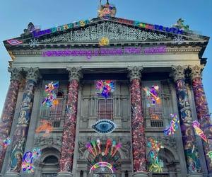 diwali, lights, and neon image