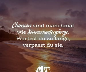 zitat, spruch, and chance image