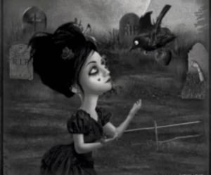 cemetery, emo, and goth image