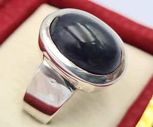 handmade, rings, and natural stone image