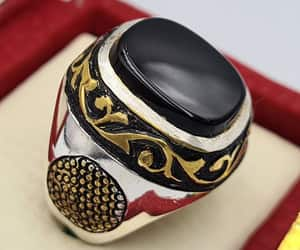 etsy, gift for him, and handmade rings image