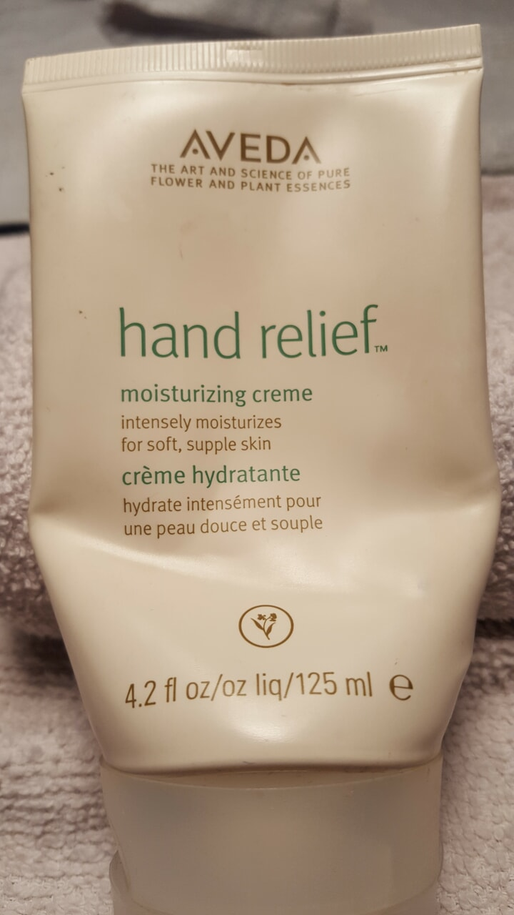 article, hand lotion, and aveda image