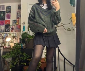 aesthetic, clothes, and glasses image