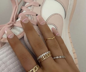 accessories, nails, and nike image
