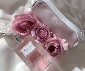 chic, Christian Dior, and fragrance image