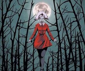 dark, witch, and Darkness image
