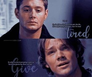 dean winchester, tv show, and sam winchester image