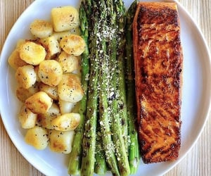 asparagus, diet, and food image