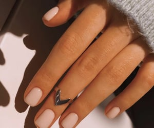 gentle, nails, and soft image