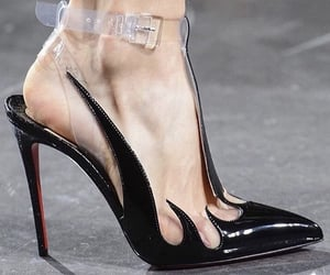 high heels, louboutin, and shoes image