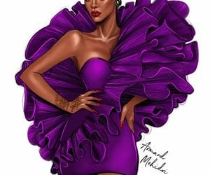 arte, elegancia, and ilustracion image