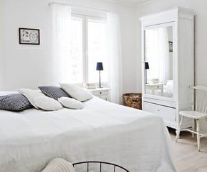 bed, design, and luxury image